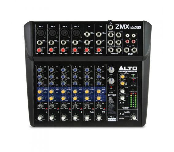 Alto ZMX122FX Mixing Desk Top