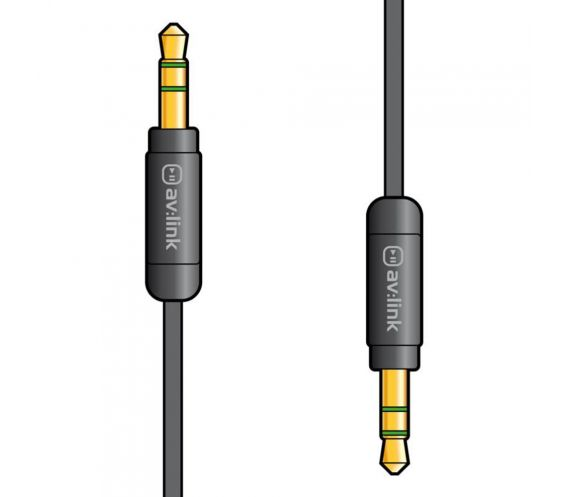 Av:Link 3.5mm Aux Lead 1.5m Cable