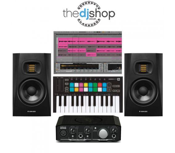 Beginner Home Studio Music Production Equipment Package