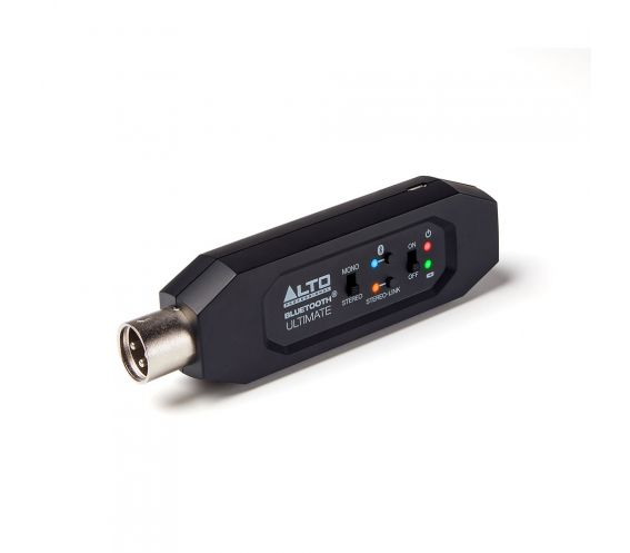 Alto Professional Bluetooth Ultimate Wireless Stereo Adapter Angled Main Image
