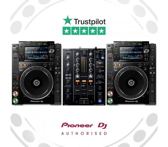 Pioneer CDJ-2000NXS2 and DJM-450 DJ Package