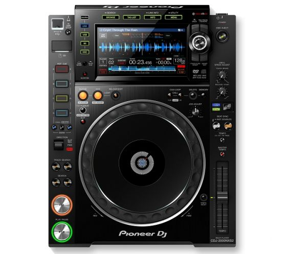 Pioneer CDJ-2000NXS2 Professional Multiplayer Main