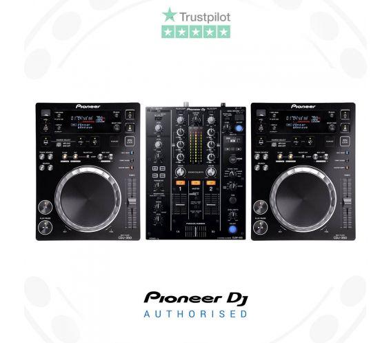 Pioneer CDJ-350 and DJM-450 DJ Equipment Package