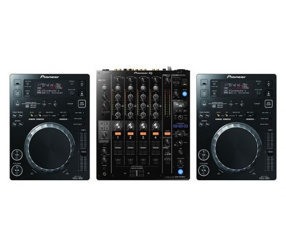 Pioneer CDJ-350 and DJM-750Mk2 DJ Package