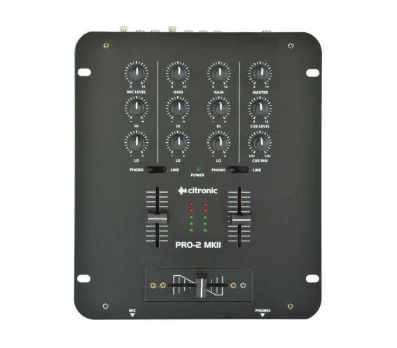 Citronic PRO-2 MKII DJ Mixer