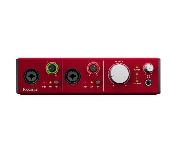 Focusrite Clarett 2 Pre Thunderbolt Audio Interface