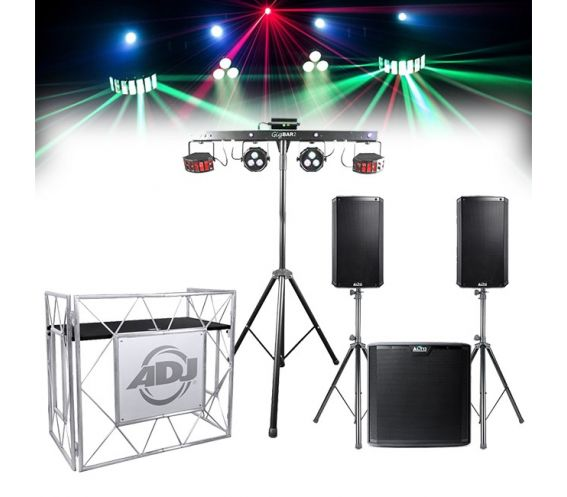 Complete Mobile DJ Equipment Package Bundle