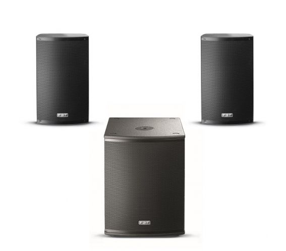 FBT X-1500 Complete PA System
