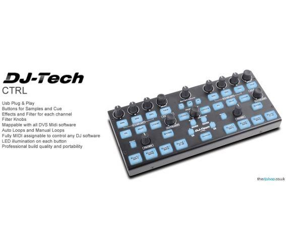 DJ-Tech CTRL USB Plug & Play controller For DVS Software
