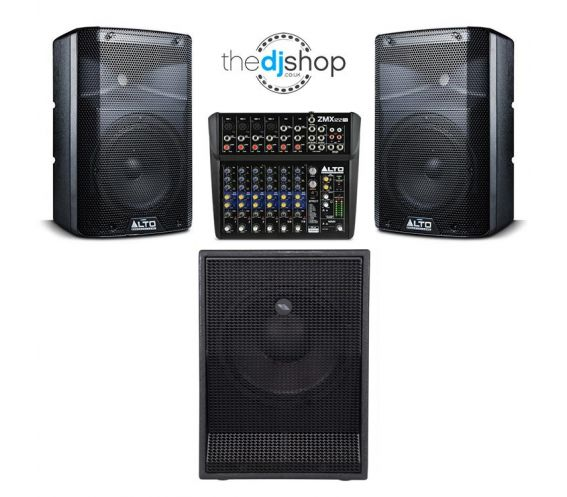 Portable Mobile DJ PA Speaker Package