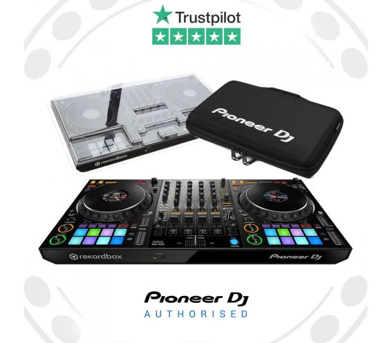 Pioneer DDJ-1000, Decksaver Cover, and Carry Bag Package Deal