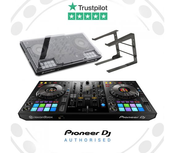 Pioneer DDJ-800, Decksaver and Laptop Stand Package Deal