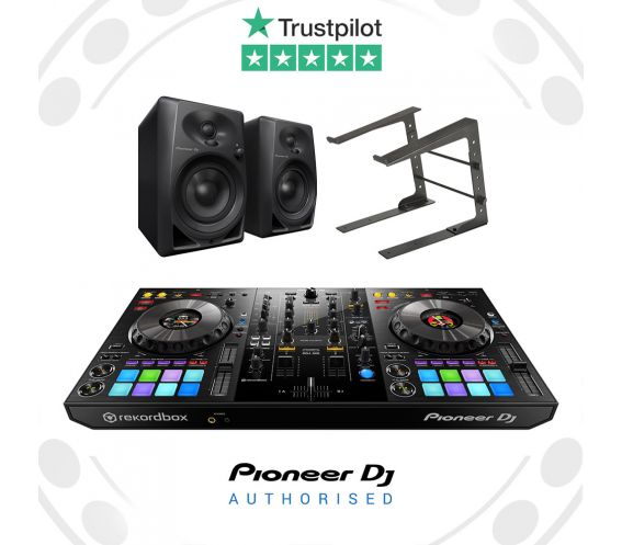 Pioneer DDJ-800, DM-40 and Laptop Stand Package Deal