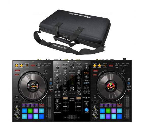 Pioneer DDJ-800 + DJC-800 Carry Case