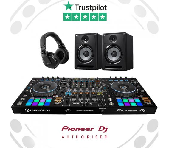 Pioneer DDJ-RZ, HDJ-X5 and S-DJ50X DJ Controller Package