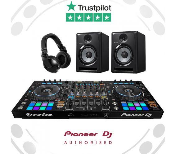 Pioneer DDJ-RZ, S-DJ60X & HDJ-X10 Pro DJ Controller Bundle