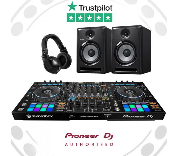 Pioneer DDJ-RZ, HDJ-X10 and S-DJ80X Ultimate DJ Controller Package