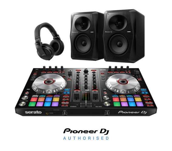 Pioneer DDJ-SR2, VM-70 & HDJ-X5 DJ Equipment Package