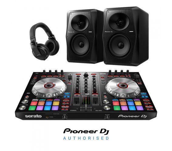 Pioneer DDJ-SR2, VM-80 & HDJ-X5 DJ Equipment Package