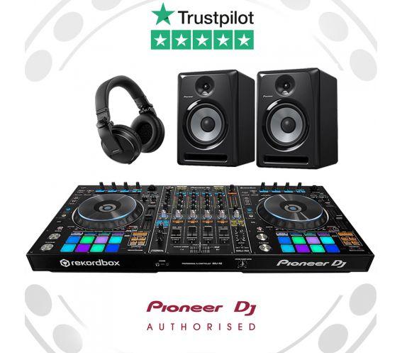 Pioneer DDJ-RZ, S-DJ60X and HDJ-X5 Pro DJ Controller Package