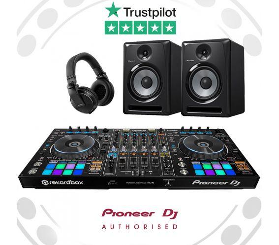 Pioneer DDJ-RZ, S-DJ80X & HDJ-X5 Professional DJ Controller Package