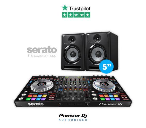 Pioneer DDJ-SZ2 Controller and S-DJ50X DJ Equipment Package