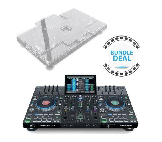 Denon DJ Prime 4 + Protective Decksaver Deal