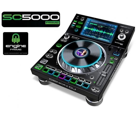 Denon DJ SC5000 Prime Media Player with Multi-Touch Display main