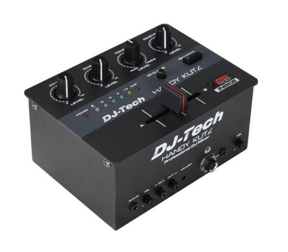 DJ Tech Handy Kutz 2-Channel Scratch Mixer