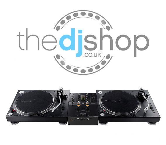 Pioneer PLX-500 Turntable and DJM-250Mk2 DJ Equipment Package
