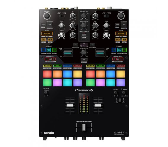 Pioneer DJM-S7 2-channel scratch-style DJ mixer