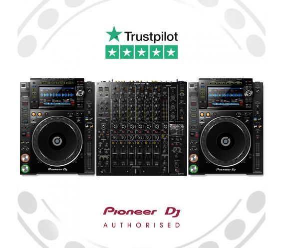 Pioneer CDJ-2000NXS2 and DJM-V10 Pro Package Deal