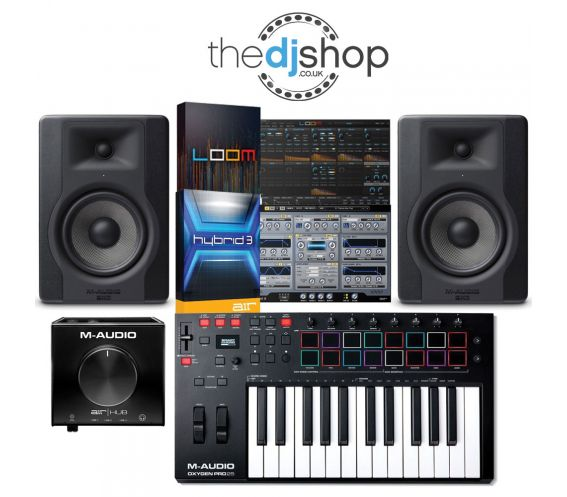 M-Audio Starter Music Production Package Deal