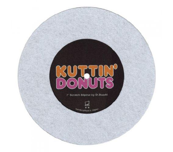 Dr Suzuki 'Kuttin Donuts' 7-inch Slipmatt White Front