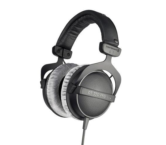 Beyerdynamic DT 770 Pro Headphones-80 Ohms