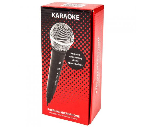 Easy Karaoke EKWM-100 Uni-directional Dynamic Microphone