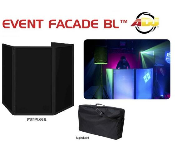 American DJ Event Facade BL Portable DJ Screen