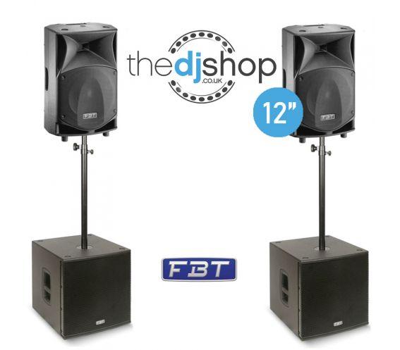 FBT JM2000 Complete Loudspeaker Bundle