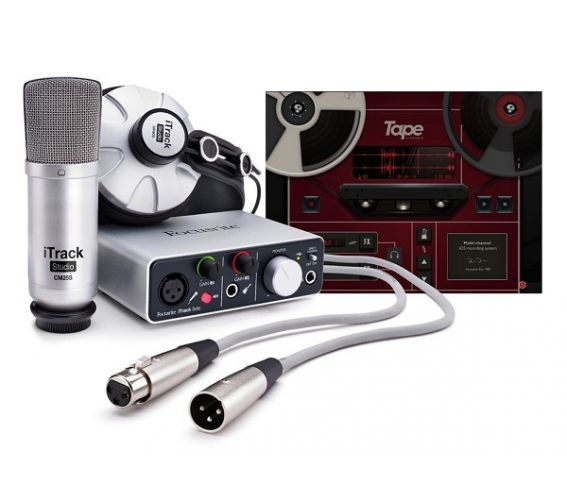 Focusrite iTrack Studio Lightning Complete Recording Package
