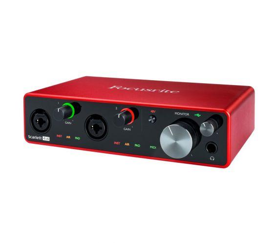 Focusrite Scarlett 4i4 3rd Gen USB Audio Interface