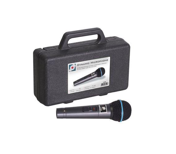 SoundLab Dynamic Handheld Microphone + Case