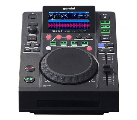 Gemini MDJ-600 DJ Media Player