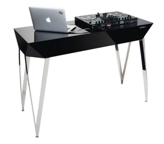 Glorious Diamond DJ Table black