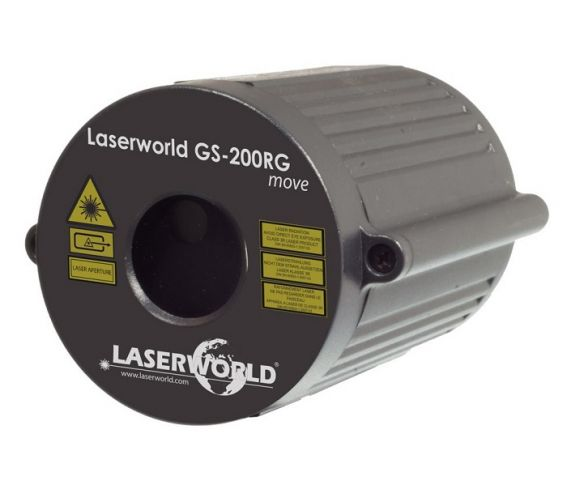 Laserworld GS-200RG Move Red and Green Laser