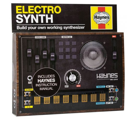 Haynes D.I.Y Electro Synthesiser Construction Kit