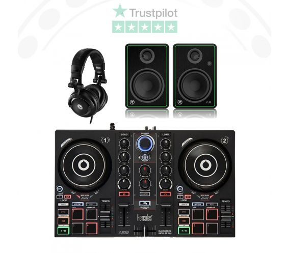 Hercules Inpulse 200 DJ Equipment Bundle Deal