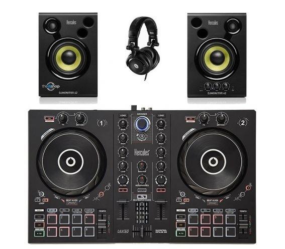 Hercules Beginner DJ Equipment Package