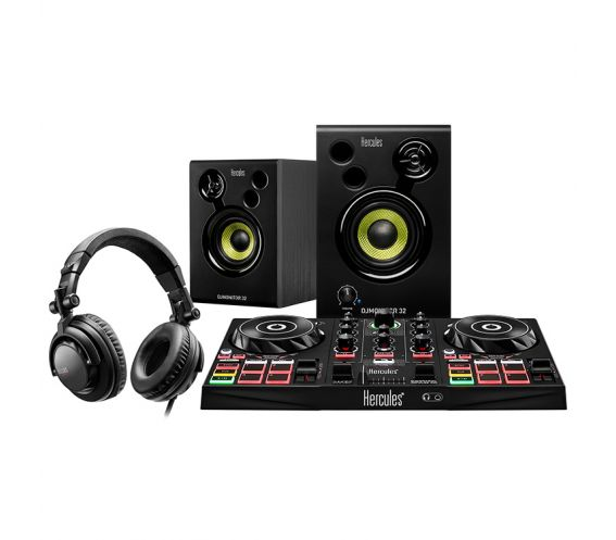 Hercules DJ Learning Kit