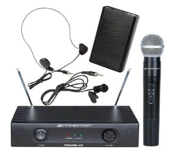iTRANS V3 SET Wireless Microphone System
