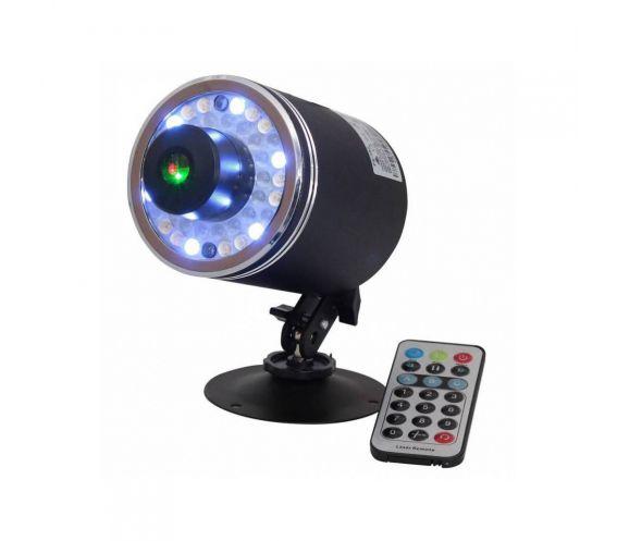 Ibiza LAS360RG-FIREFLY Light Laser + LED 360 Lighting Effect Main